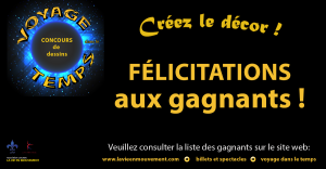 Felicitation gagnants